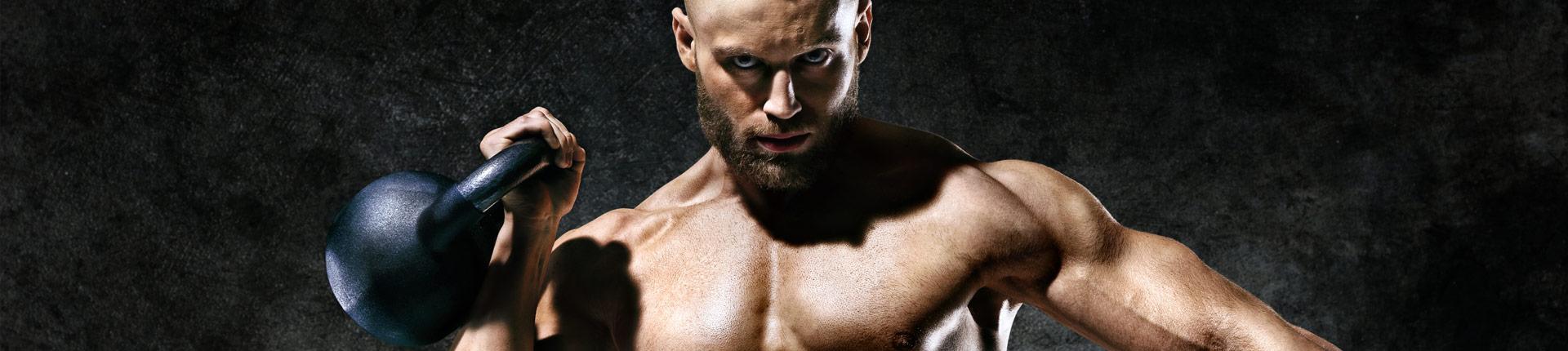 5 najlepszych ćwiczeń z kettlebells na tricepsy