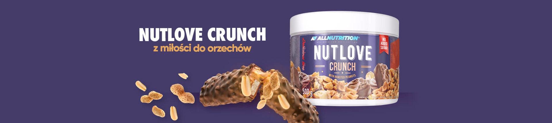 NutLOVE - krem mleczno-czekoladowy z dodatkiem prażonych orzechów ziemnych