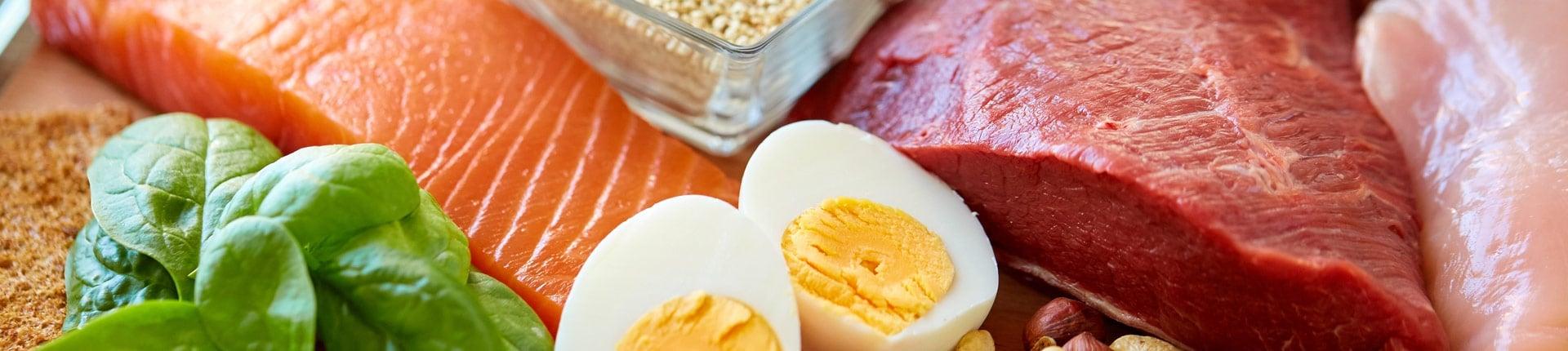 Dużo białka = mało tłuszczu podskórnego?