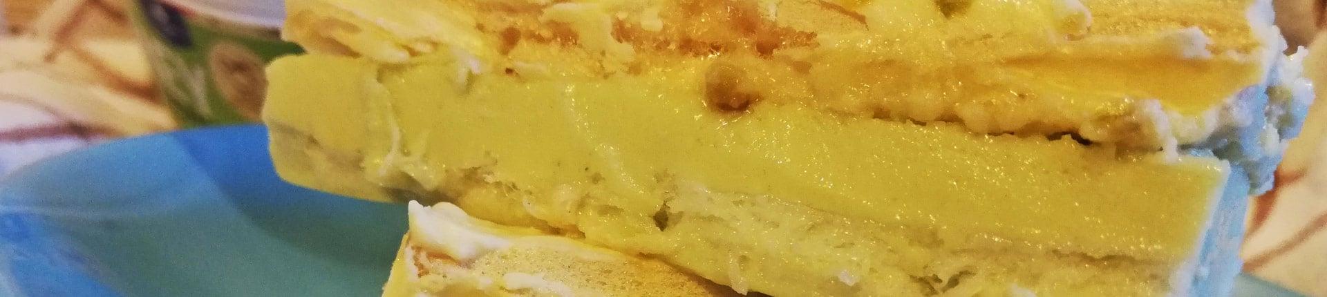 Pistacjowa mleczna kanapka