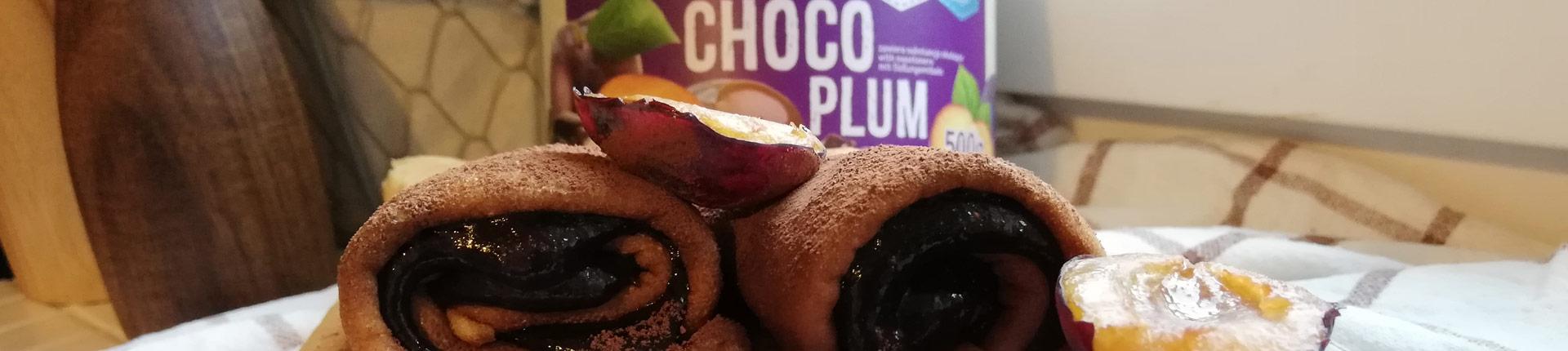 Naleśniki orkiszowe z Choco Plum