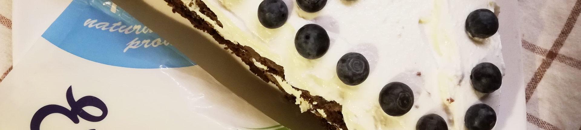 Mleczna kanapka w wersji FIT