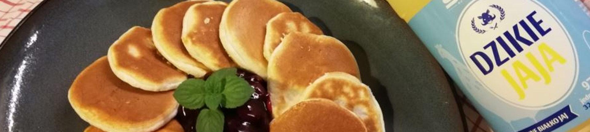 Przepis na omlet gryczany z fit frużeliną