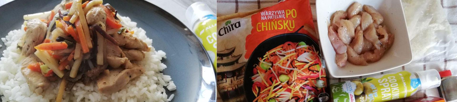 Obiad w 15 minut - kurczak po chińsku na ostro