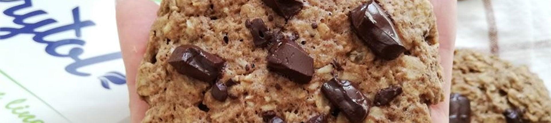 Zdrowe ciastka owsiane bez cukru