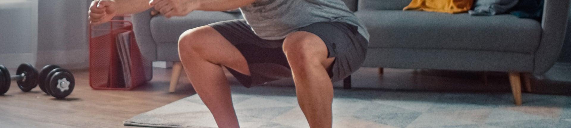 Ćwiczenia na nogi - Trening nóg w domu bez sprzętu