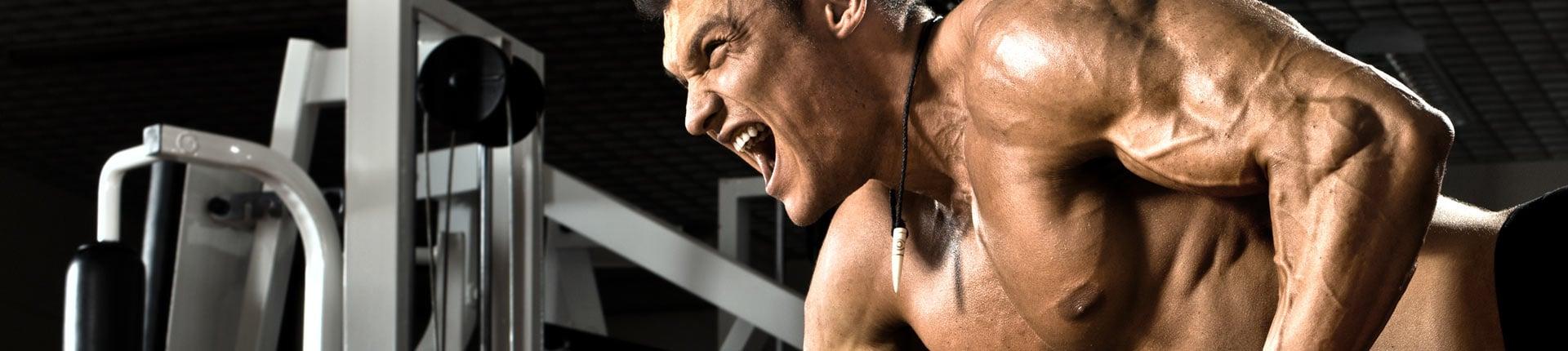 Zbyt intensywny trening nie powoduje wzrostu mięśni