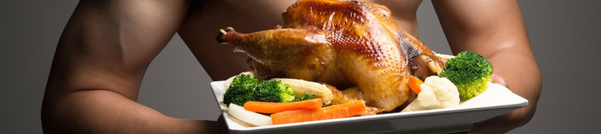 Dlaczego kulturyści jedzą kurczaki?