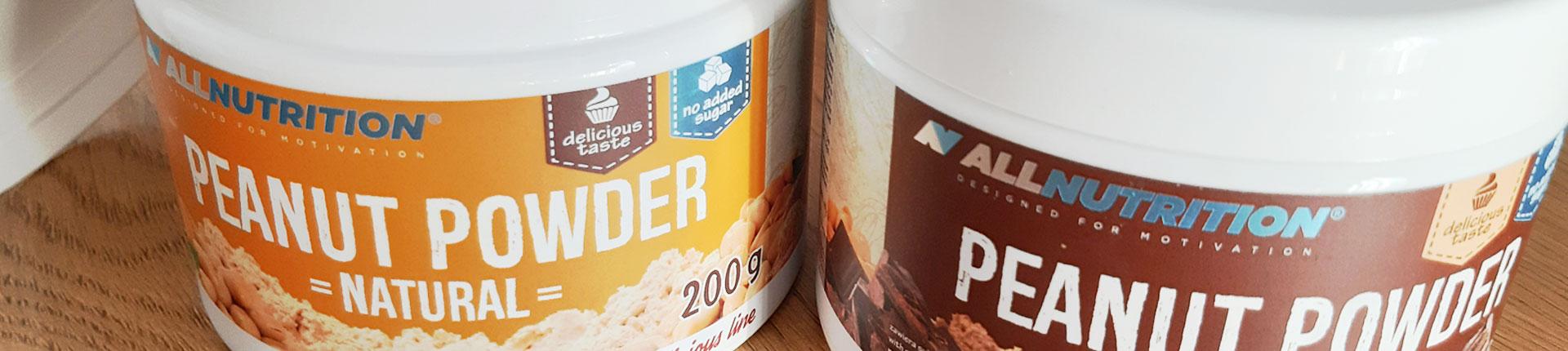 Peanut Powder - odłuszczone masło orzechowe w proszku