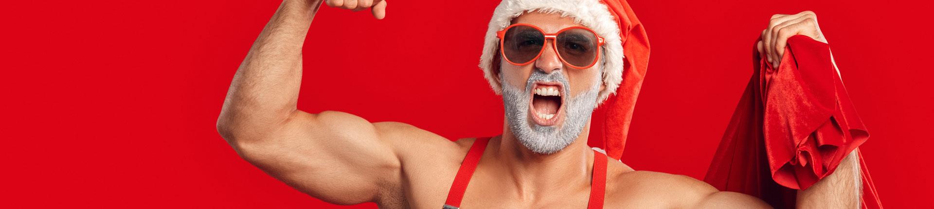 Anaboliczne święta i Mikołaj nienażarty!
