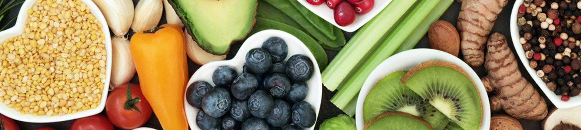 Suplementy i żywność bogata w antyoksydanty