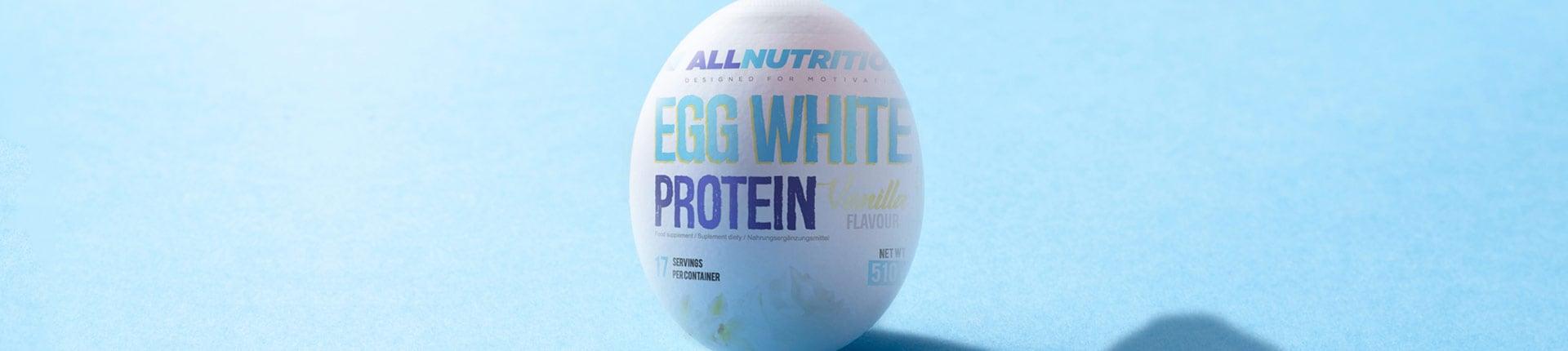 Koncentrat białka jaja kurzego - ALLNUTRITION Egg White Protein