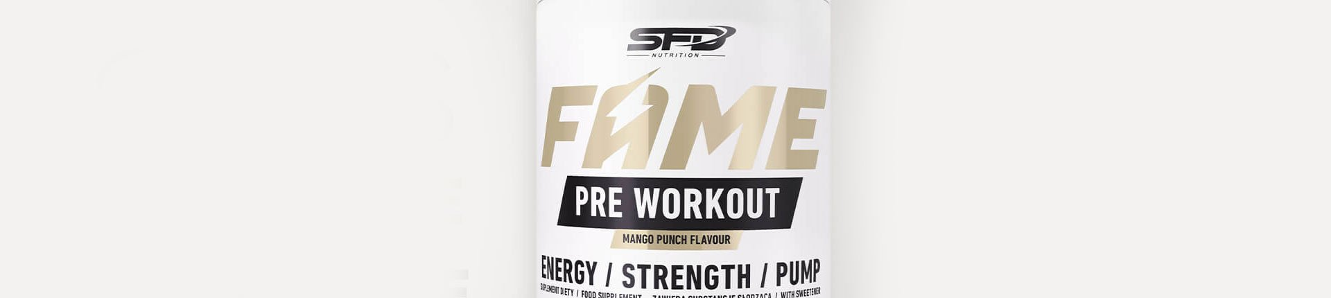 SFD Fame Pre Workout - czas na mocne uderzenie!