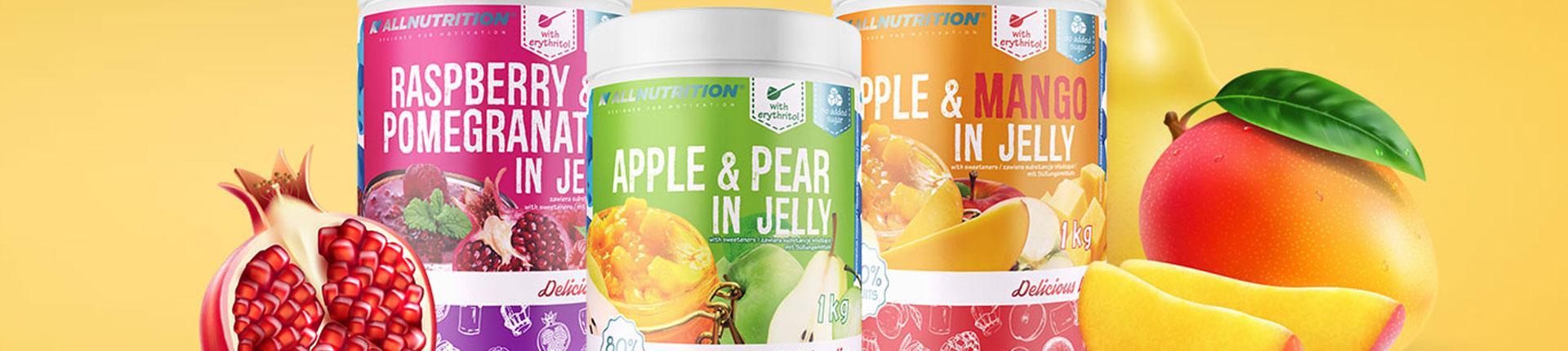 Pyszne owoce zanurzone w słodkim i delikatnym żelu - poznaj nowe smaki!