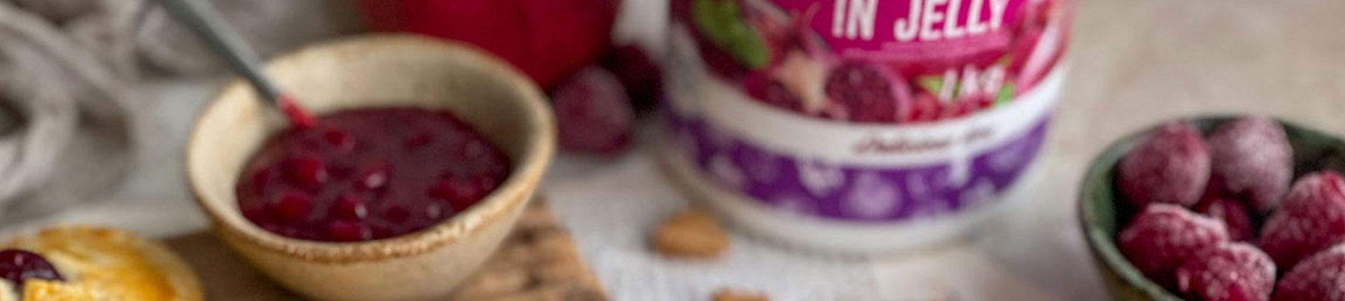 Pyszne kruche ciasteczka z frużeliną