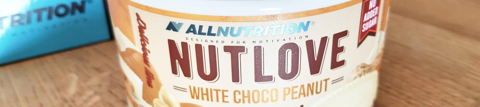 Orzechowa miłość w białej czekoladzie - NUTLOVE White Choco Peanut