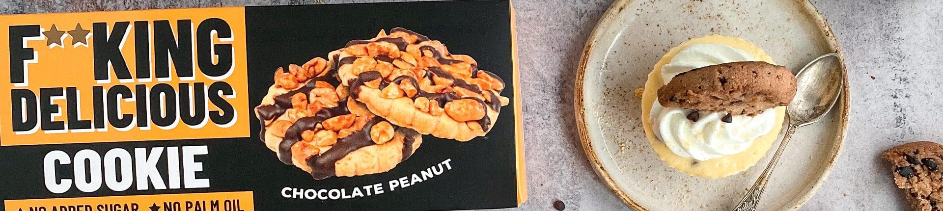 Pyszne mini serniczki z ciasteczkami