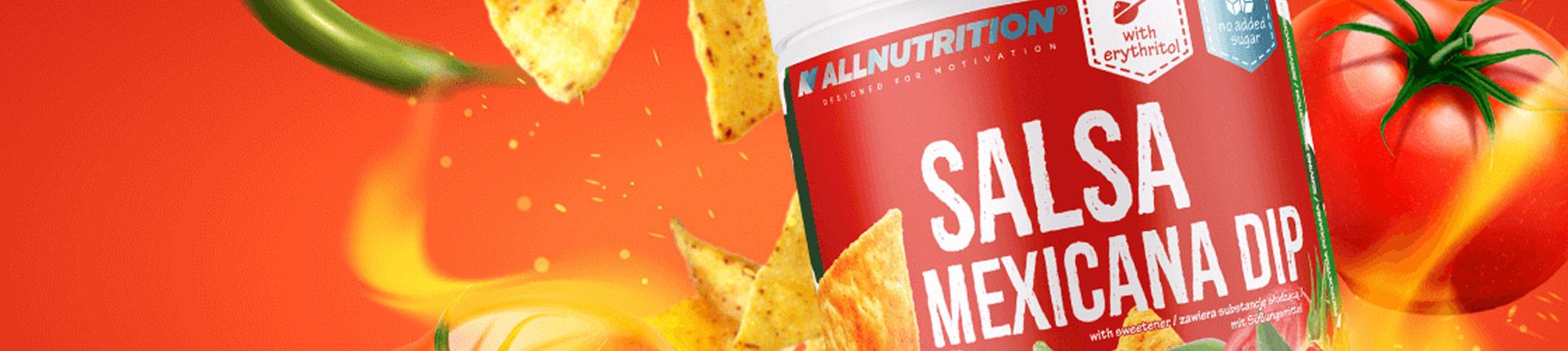 Dietetyczna Salsa Mexicana z chili i jalapeno