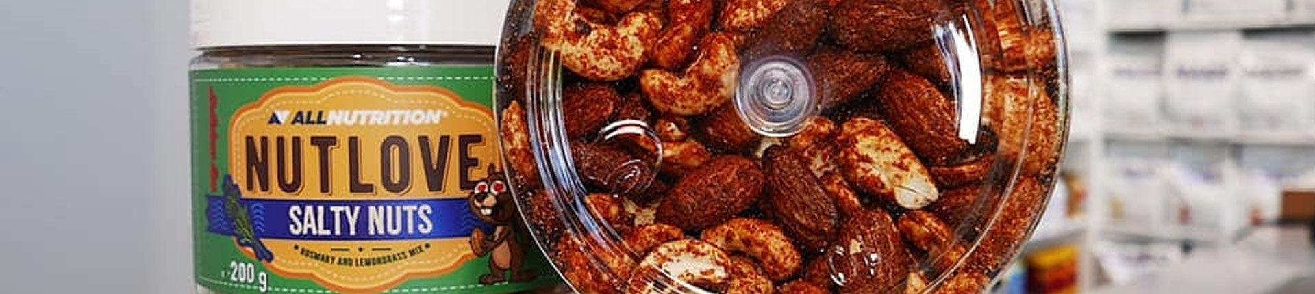 NUTLOVE SALTY NUTS - pyszne orzechy w wyjątkowych przyprawach