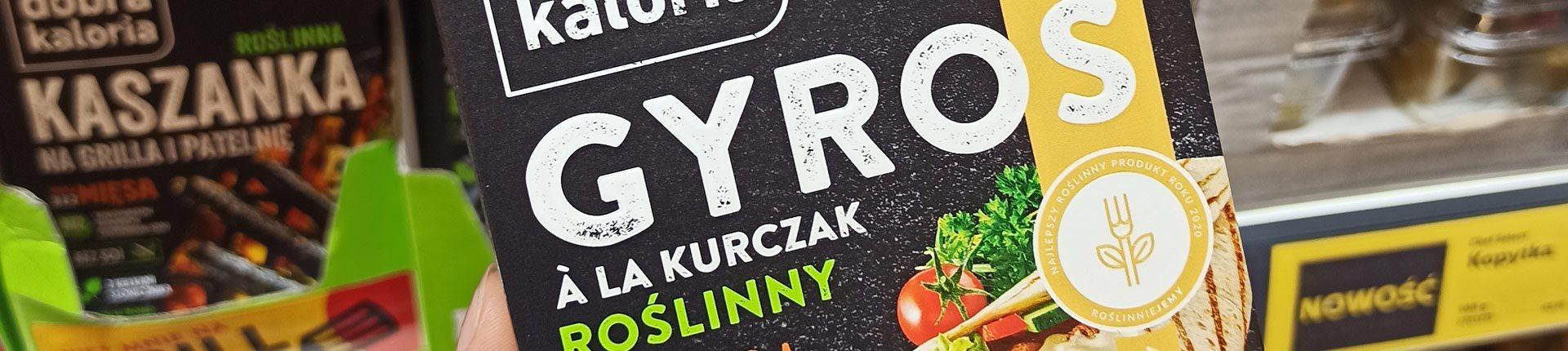 Roślinny gyros à la kurczak - ocena i recenzja produktu