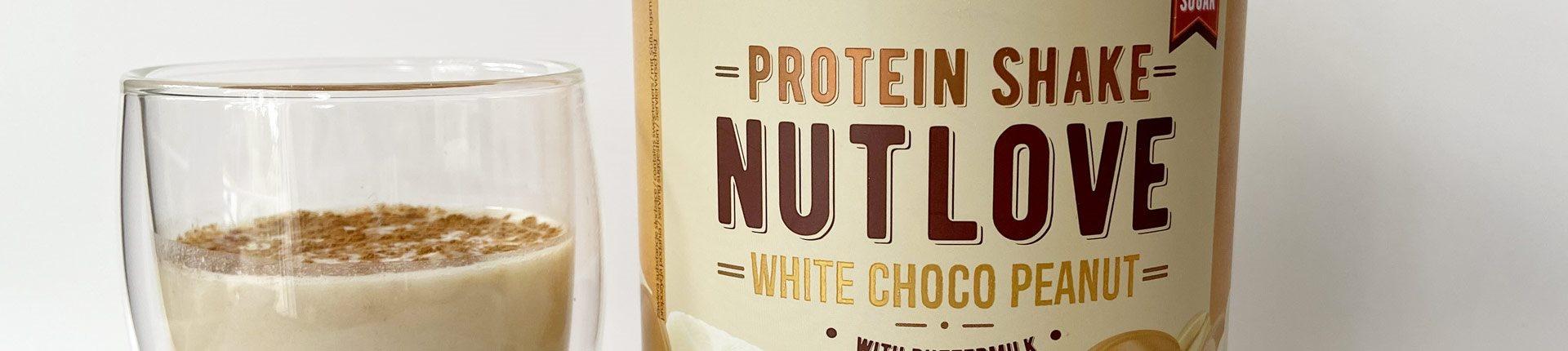 NUTLOVE PROTEIN SHAKE - wyśmienita odżywka białkowa